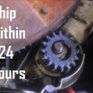 2x BRIGGS & STRATTON MTD JOHN DEERE CRAFTSMAN 695708 STARTER GEAR W/ INSTRUCTION