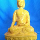 "8 "" New Hand made Fishbone Sakyamuni Buddha Statue from Nepal"