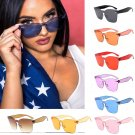 Transparent Sunglasses Frameless Clear Glasses