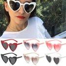 Lovely Heart Sunglasses Cat Eye Retro Gift Heart Shape Sun Glasses UV400