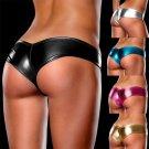 Women Ladies Metallic Lingerie Underwear Panties Knickers G-String Micro Thong