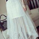i Skirt For Lady Summer Full Length Tulle Skirt