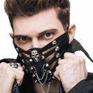 Punk Men Women Cosplay Rock, Halloween Face Masks A378