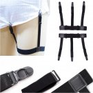New arrival Black Polyester Women\'s Stockings Garter 2.5cm width Elastic Sling Single buckle Belt A