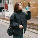 Women Tops Winter Parkas Black Bomber Jacket Women Zipper Women Coat Cool Basic Down Padded Zipper C