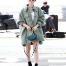 Winter Wool Coats Overcoat Warm Outerwear Women Casaco Feminino Loose Cardigan Single Breasted 2017