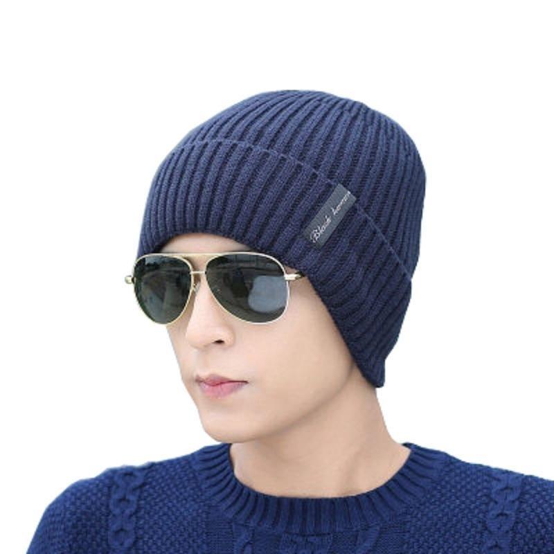 Winter Hat Scarf Neck Warmer Women Skullies Beanies Thick Fleece Mask Scarf Sets Winter Hats For Men