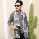 Winter Men\'s Wool Scarves Warm Soft Shawl Men Scarves Classical Scarf  Winter Warm Scarf Manufactur