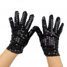 new and high quality Women Men Sequin Show Jazz Dance Performance Actor Gloves Hot On Sale  EY #LYW