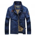 2017 New Brand Clothing Retro Classic Men\'s Denim Jacket Casual Thick Jeans Jacket Fashion Men\'s A