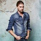 New Design Autumn Mens Denim Jacket Classical Slim Men Single Breasted Retro Jeans Jackets Winter Ou