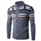 2017 New Autumn Winter Fashion Brand Men Clothes Casual Cardigan Sweater Male Knitwear Warm Knitted