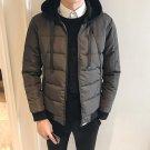 2017 Winter Men Jacket Coat Thickenin Warm Velvet Cotton Male Jackets Parka Hooded Casual Windbreake