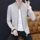 Men Jacket Coat 2017 Autumn Winter Casual Slim Fit Knitted Jacket Male Korean Style Solid Men\'s Kni