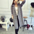 High Brand Design Women Winter Coat Warm Plaid Padded Coat Winter Fashion Long Trench Female Outerwe