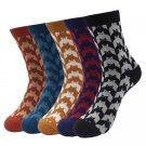 Cotton Male Socks Cute Bat Pattern High Quality Compression Brand Non-slip 2017 Autumn/Winter Fashio