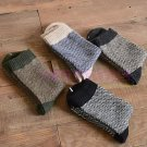 4Pairs Men\'s Warm Winter Thick Angora Cashmere Casual Dress Wool Mixture Socks