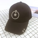 Metal Rings Fashion Cap Baseball Cap Snapback Hat For Boys Girls Kids Baseball Hat Outdoor Sport Gol