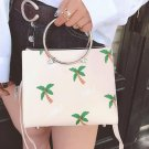 tote bags for women Embroidery Flower fashion printing women messenger Bags small high quality pu le