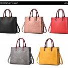Herald Fashion PU Leather Women\'s Handbags PU Leather Female Handbags Designer Casual Tote Luxury S