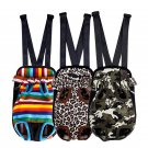 Fashion Leopard/Camo/Striped Pet Dog Cat Carrier Backpack Legs Out Front Style Pet Tote Bag Bag Pet