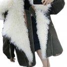 Winter Cotton Padded Fur Medium-long Parka Female Overcoat Fashion Loose Large Size Coat Women\'s Ja