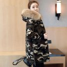 Camouflage Military Jackets 2017 Winter Jacket Women Chaqueta Mujer Thick Cotton Maxi Coats Hooded F