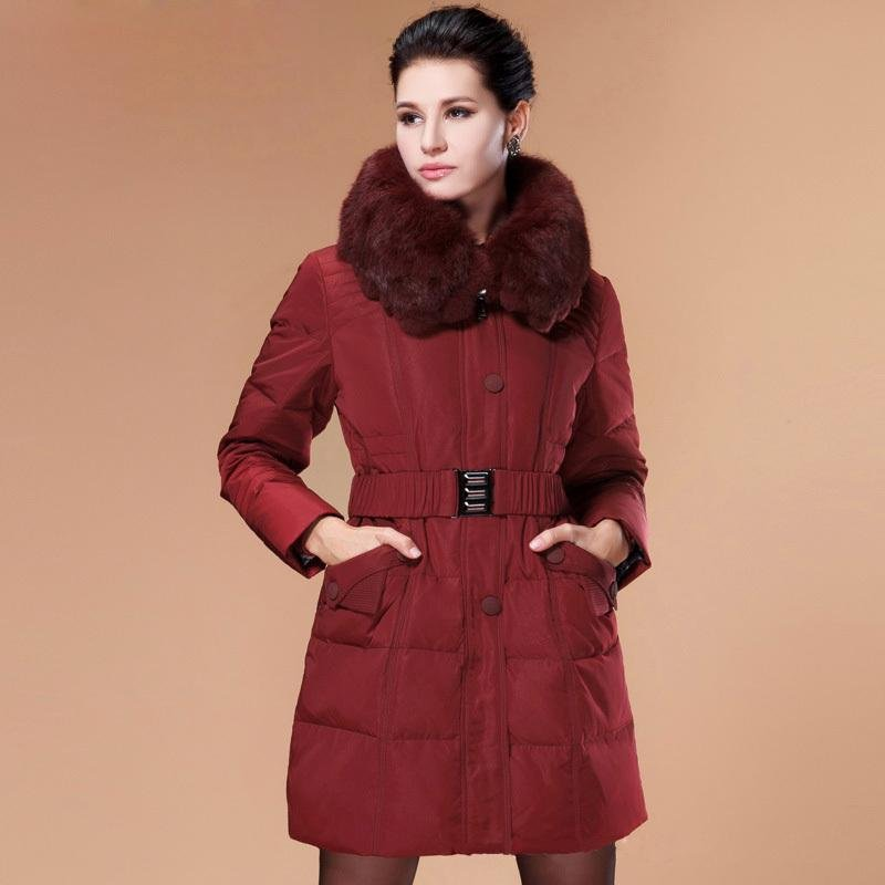 women winter plus size coats 4xl 5xl thick super warm ladies slim parka jacket white duck down coat
