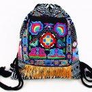 Tribal Vintage Hmong Thai Indian Ethnic Boho rucksack Boho hippie ethnic bag backpack bag L size SYS