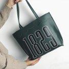 Lovely Print Letter Brief Big Capacity Female Handbag Fashion Shoulder Messenger Bag  #1792 Women Ba
