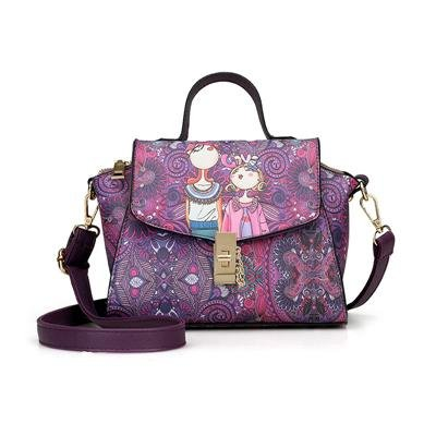 Green Flower Printing PU Leather Women Handbags Fashion Women Bag Female Tote Women Messenger Bags F