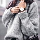 WOMAIL Womens Long Sleeve Tops Sweater Casual Loose Knitwear Pullover Jumper Tops Knitwear Women\'s