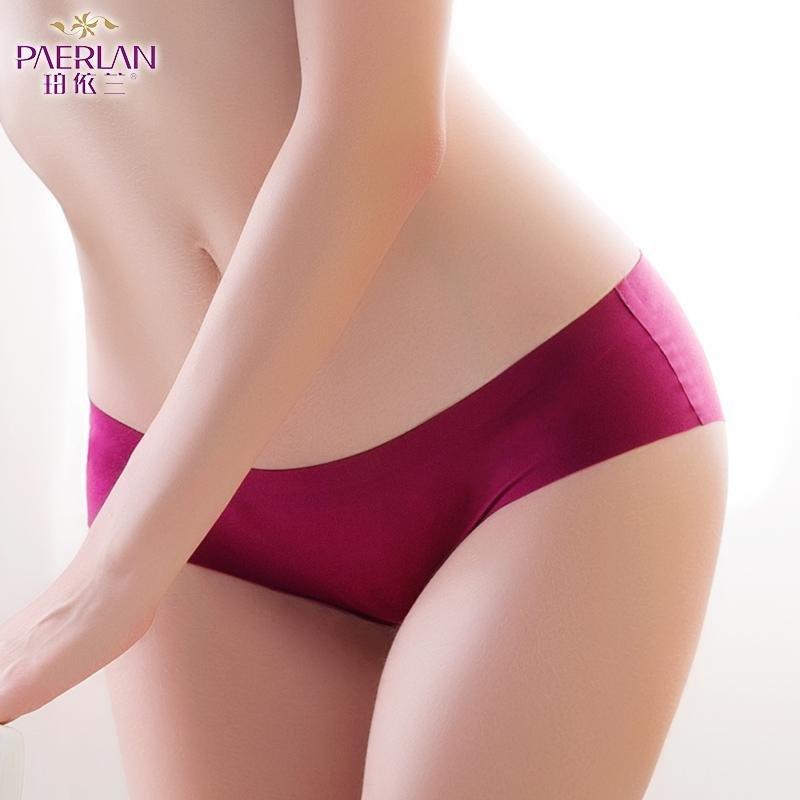 PAERLAN Seamless low-cut underwear sexy one-piece underwear sexy temptation comfortable hip triangle