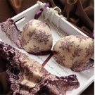 Brand New 2017 French Romantic Brand Lace Bra Sets Sexy Women Underwear Set Push Up BC Bra and Panty