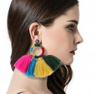 Tassel Earrings For Women Exaggerated Ethic Bohemia Boho Style Large Big Long Earrings Vintage State