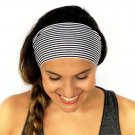 1 PC Women Lady Wide Sports Headband Stretch Hairband Elastic Hair Band Turban Sports and Leisure