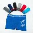 2017 New Arrival New Mens Boxer Shorts 7pcs Secret Dig Male Underwear Men\'s Solid Boxer Shorts Sexy