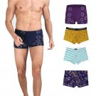 Sexy Men Boxer Soft Breathable Underwear Male Comfortable Solid Panties Underpants Cueca Boxershorts