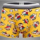 Free Shipping pull in underwear men waist pants U convex design personality cartoon boxer shorts SIZ