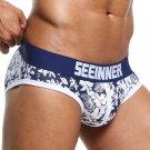 hot sell men\'s  fashion Underwear cotton briefs Men Shorts Cueca Masculina printed underwear Mens U