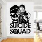 Joker Suicide Squad Wall Art Sticker Fashion Design Wall Stickers For Boys Bedroom Teens Room Decor