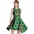 Fashion african dress sleeveless Individualization design women dashiki clothes ladies limited editi