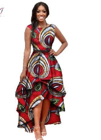 in stock african clothes for women  o-neck african embroidery bazin dress Dashiki women dress cotton