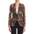 Recreational african print blazers women fashion beautiful design dashiki clothing ladies casual coa