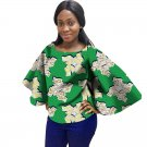 Fashion Women African Print Spacious Sleeve Tops Dashiki Clothes African Festive Print T-Shirt Afric
