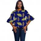Customized African Print Unique Design Ladies Fashion Dashiki Clothes Women Vintage Multi Colored Af