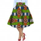 Elegant brightly colored africa print element ladies dashiki skirts custom african clothes for women