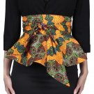 Fashion lady african printed batik belt female individuality ankara belt women beautiful wax printin
