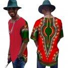 Summer Short Sleeve Shirt Men Slim Fit Brand Clothing African Print Dashiki Men Shirts Casual Mens A