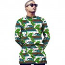African t-shirt male tops print long sleeve men africa t shirt fashion  design o-neck dashiki clothe